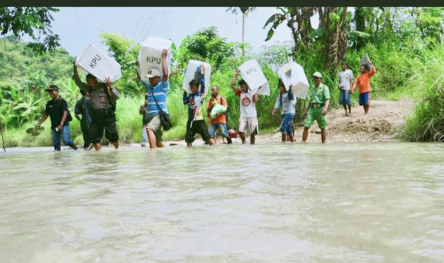 Keterlambatan Logistik Pemilu di Kabupaten Banggai baru Terjadi dalam Sejarah