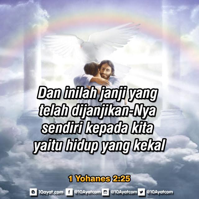 1 Yohanes 2:25