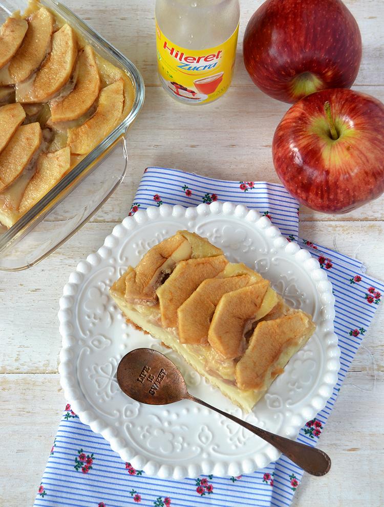 Postre de manzana sin azúcar