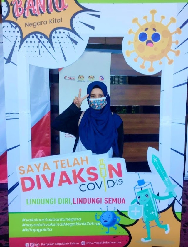 Pengalaman Cucuk Vaksin COVID-19 di PPV Ideal Convention Centre IDCC, Shah Alam