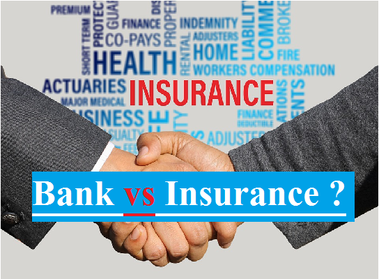 [Difference] about Banks and Insurance Companies | Blogsmotion |