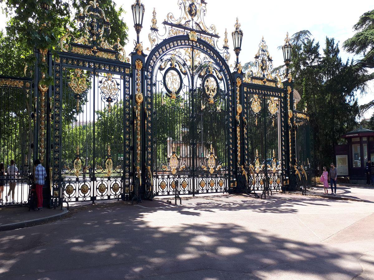 portail parc tete d'or lyon