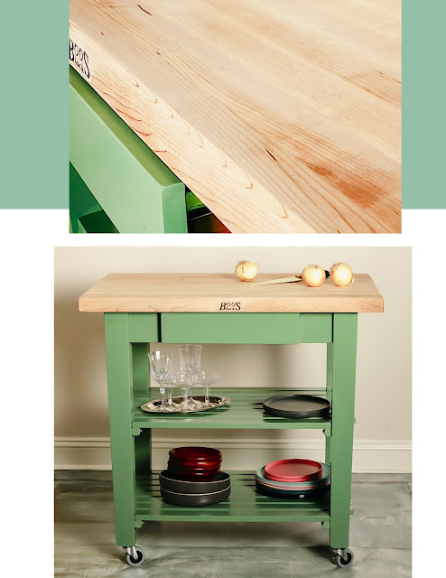 John Boos maple wood table