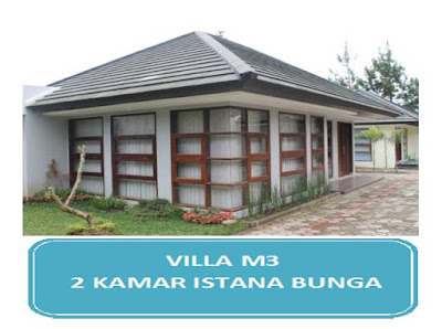 villa 2 kamar terdekat tempat wisata lembang
