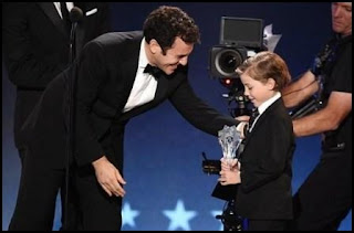 Jacob Tremblay en los Critics Choice Awards 2016