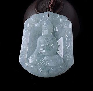 Jade Buddha Pendant (1)
