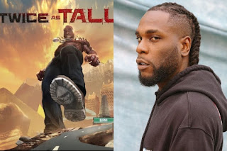 Burna Boy's New Album 'Twice As Tall' Takes No.1 Position In The Whole World
