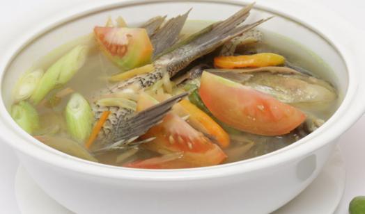 Resep Masakan Ikan Gurame Dengan Sup Bening Tanpa Kuning