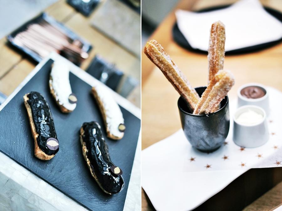 mandarin oriental churro barcelona