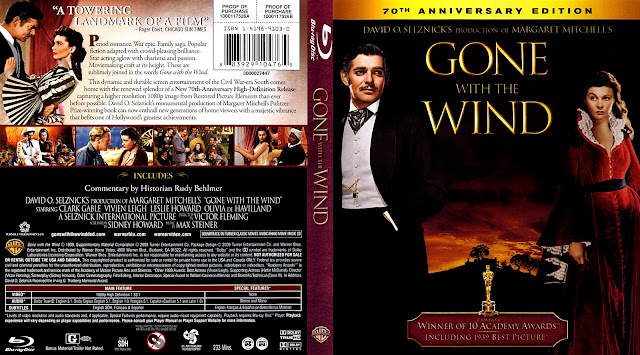Gone With The Wind Bluray Cover