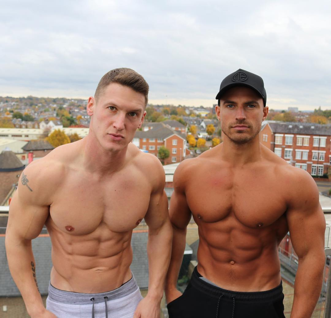 two-shirtless-muscular-bodybuilders-strong-bodies-hunks