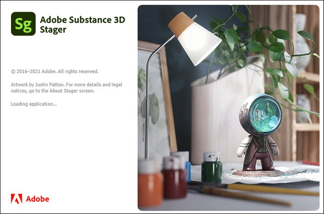 Adobe Substance 3D Stager