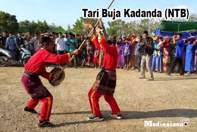 Tari Buja Kadanda (NTB)