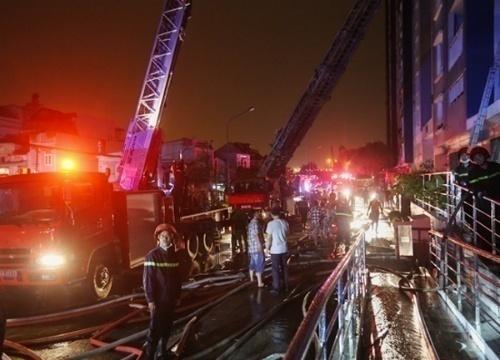 CT3 Nghĩa Đô: Quy định thiết kế an toàn về phòng cháy chữa cháy ở chung cư cao tầng
