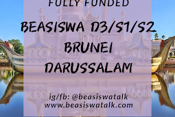 Fully Funded Beasiswa D3, S1 & S2 Brunei Darussalam