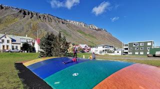 Ísafjördur (Ísafjörður). Fiordos del Oeste, Islandia. West Fjords, Iceland.