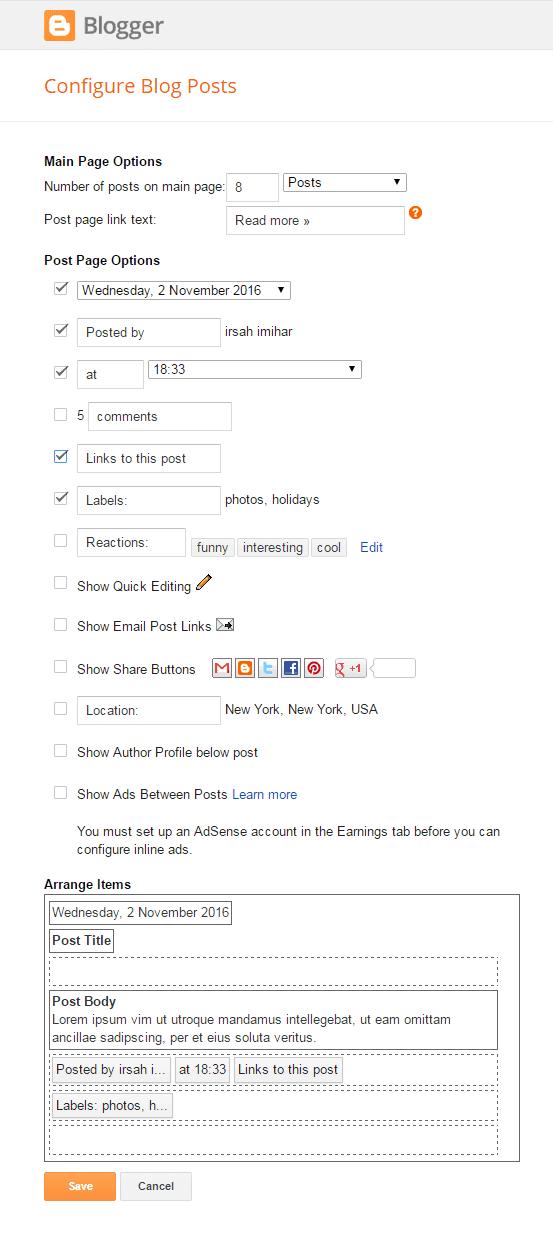 xoá java script chan trang blogger