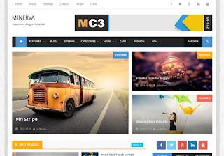 Minima Colored 3 Mag Blogger Template%2Beasypakistan