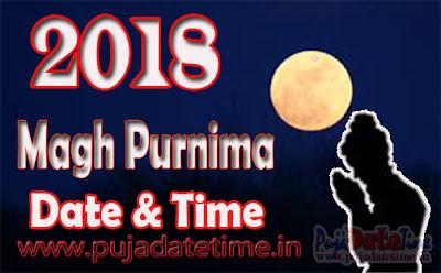 2018 Magha Purnima Date & Time