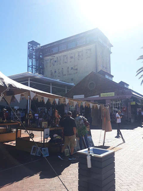 Market at Old Biscuit Mill, Cape Town