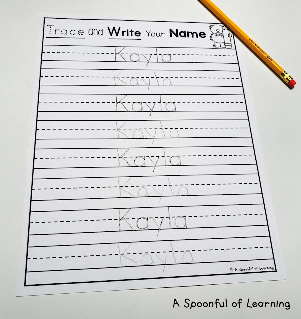 Name Activities - Trace and Write Names 2