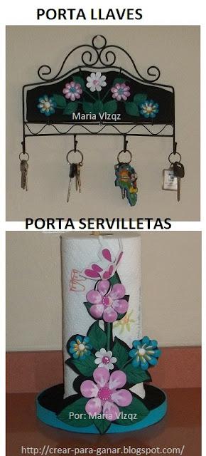 Decoracion para el hogar con foami goma eva aprender - Manualidades hogar decoracion ...