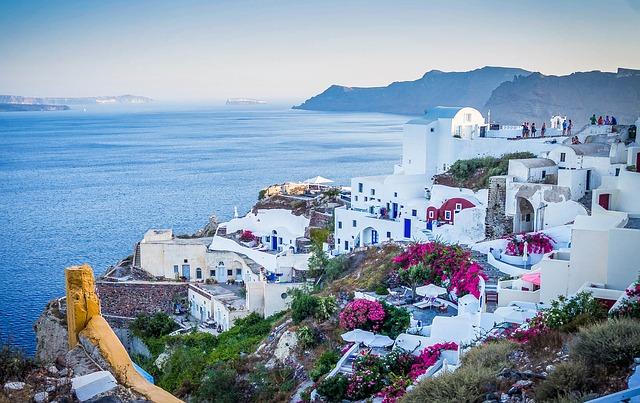 Romantisme Santorini Yunani