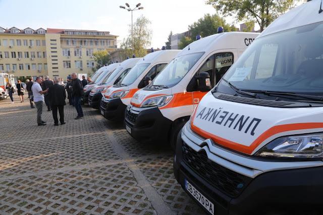 Във Варна обновяват на 100 % автопарка на Спешната помощ