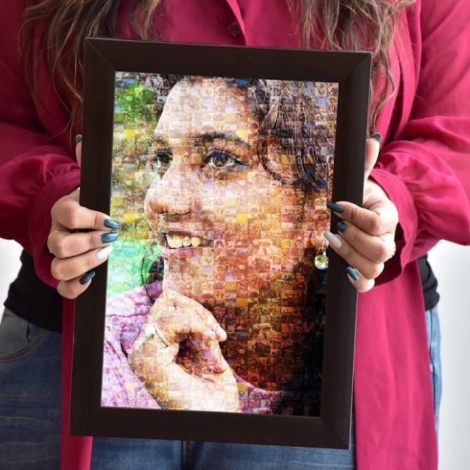 Photo Mosaic Frame