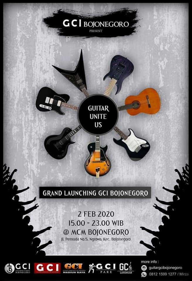 "Grand Launching ""GUITAR UNITE US"" GCI Bojonegoro - Minggu 2 Pebruari 2020"