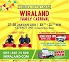 Wiraland Family Carnival: Rekreasi bareng Keluarga dengan Banyak Hadiah