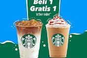 Promo Starbucks Beli 1 Gratis 1 Setiap Rabu Dengan DANA