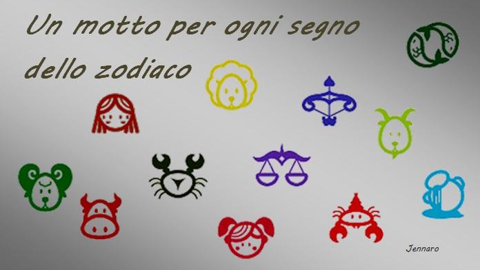 I motti dei segni zodiacali