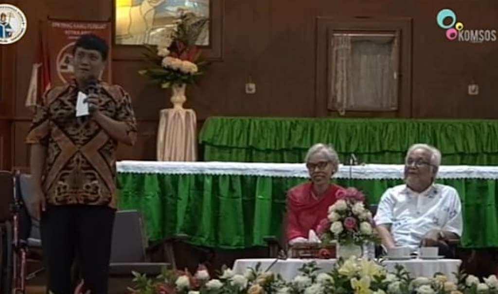 Pastor Paroki St. Gregorius Agung Kutabumi; Cinta Itu Indah tetapi Juga Berduri