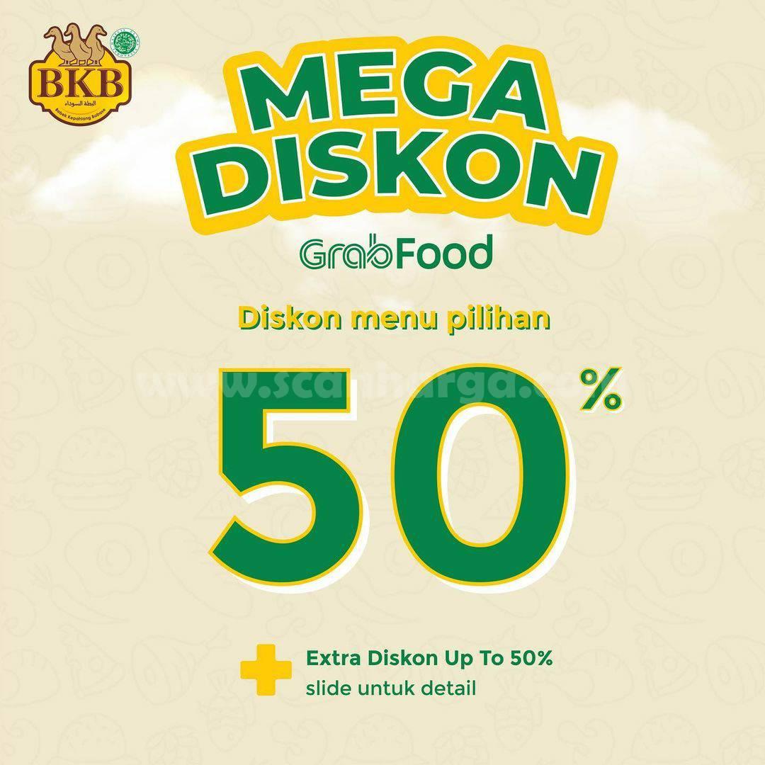 BEBEK BKB Promo MEGA DISKON 50% GRABFOOD