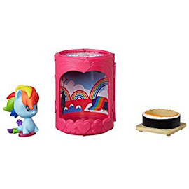 My Little Pony Blind Bags Cafeteria Cuties Rainbow Dash Seapony Cutie Mark Crew Figure