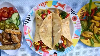 Tortillaletut & Täytevinkkejä (Vegaaninen)