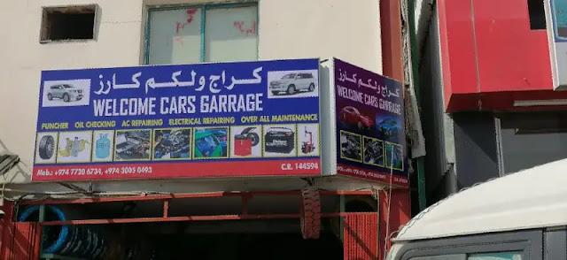 Car mechanic shop