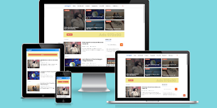 Juragan Theme Responsive Blogger Template