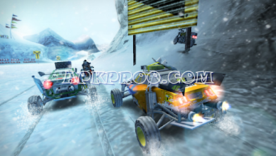 Game MotorStorm: Arctic Edge PPSSPP ISO For Android Free Download English Patch