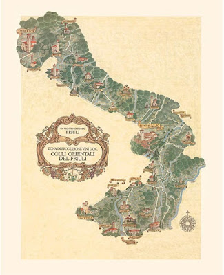 mappa colli orientali storia
