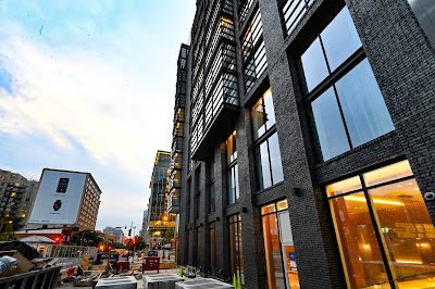 Douglas Development builds in Mt. Vernon Triangle, a new AC Hotel by Marriott, built by CBG, designed by Fillat