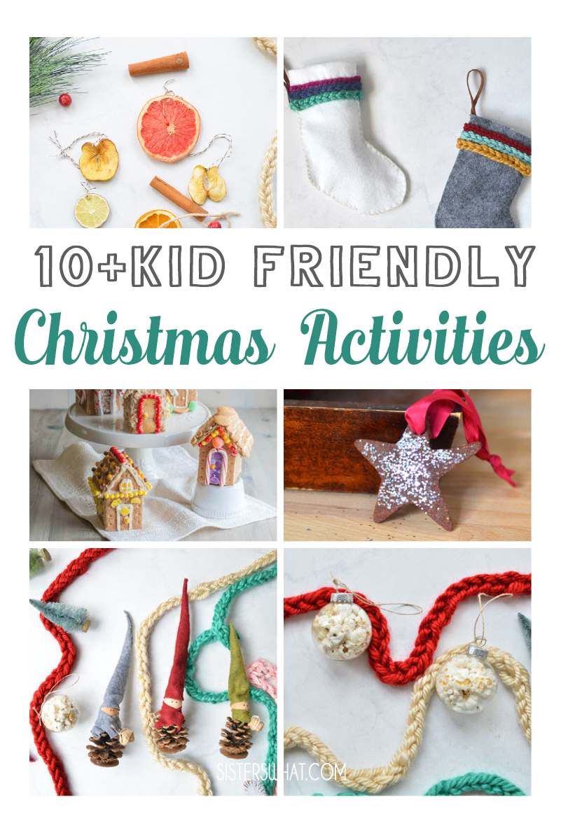kid friendly christmas activities crafts