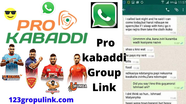 Join 201+ Pro Kabaddi Whatsapp Group Links 2020