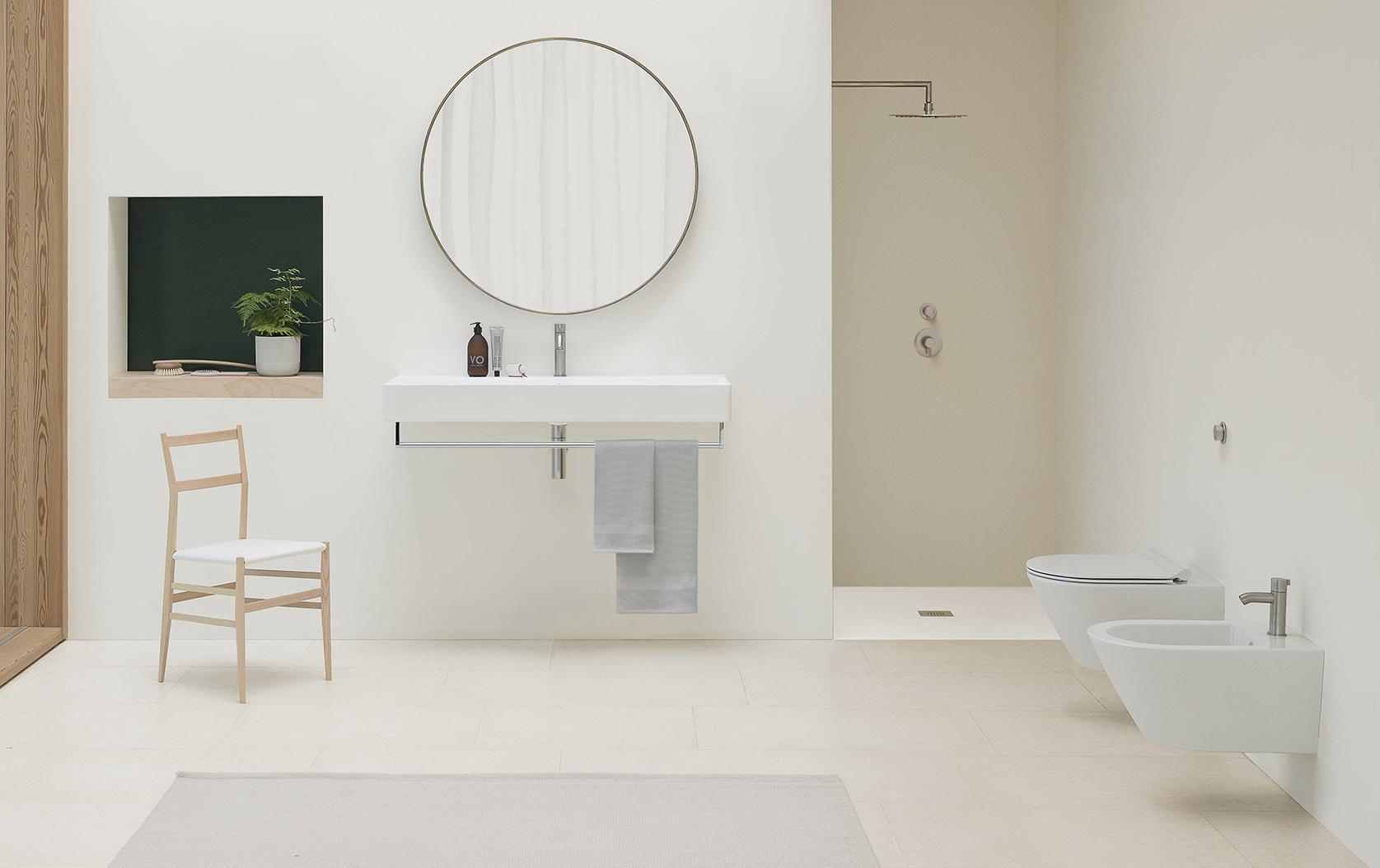 On trend: il bagno dallo stile essenziale