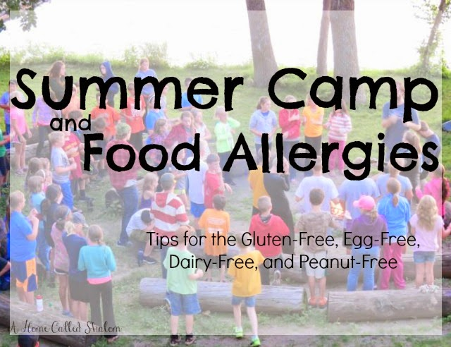 food allergies gluten-free dairy-free peanut-free summer camp suggestions campers