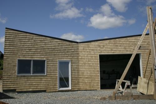 Studio& garage building