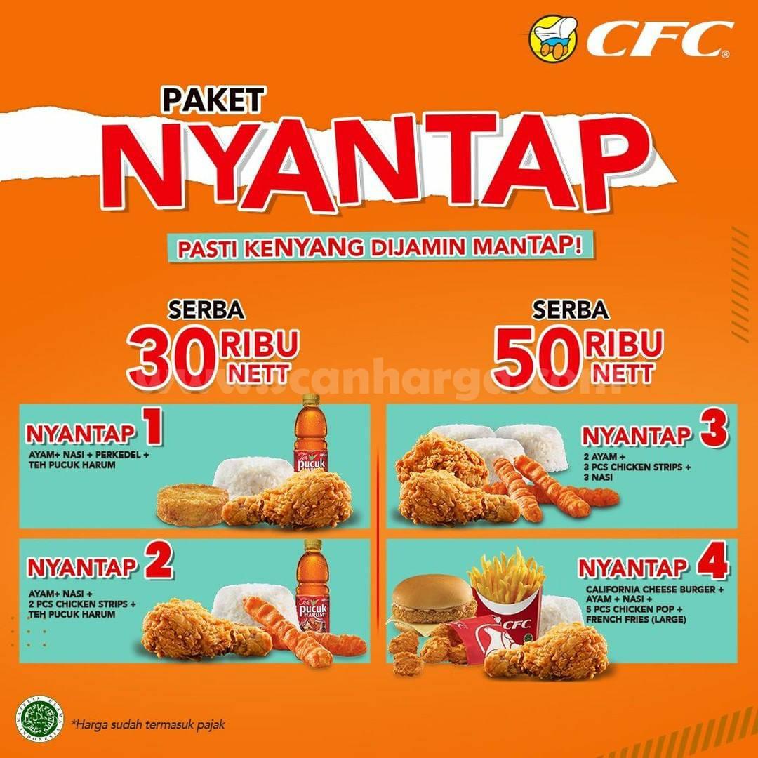 Promo CFC PAKET NYANTAP!! harga spesial mulai dari Rp. 30 Ribuan