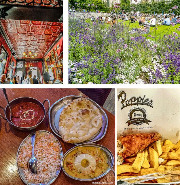 Pubs, piquenique no parque, comida asiática e fish and chips: opções de refeições em Londres