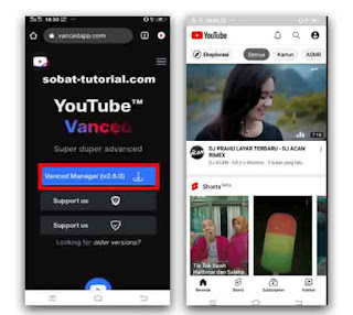 Begini Cara Install Youtube Vanced No Root di Android